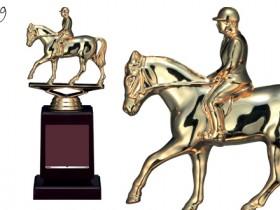 Bronzes【ブロンズ】VE-3599 乗馬