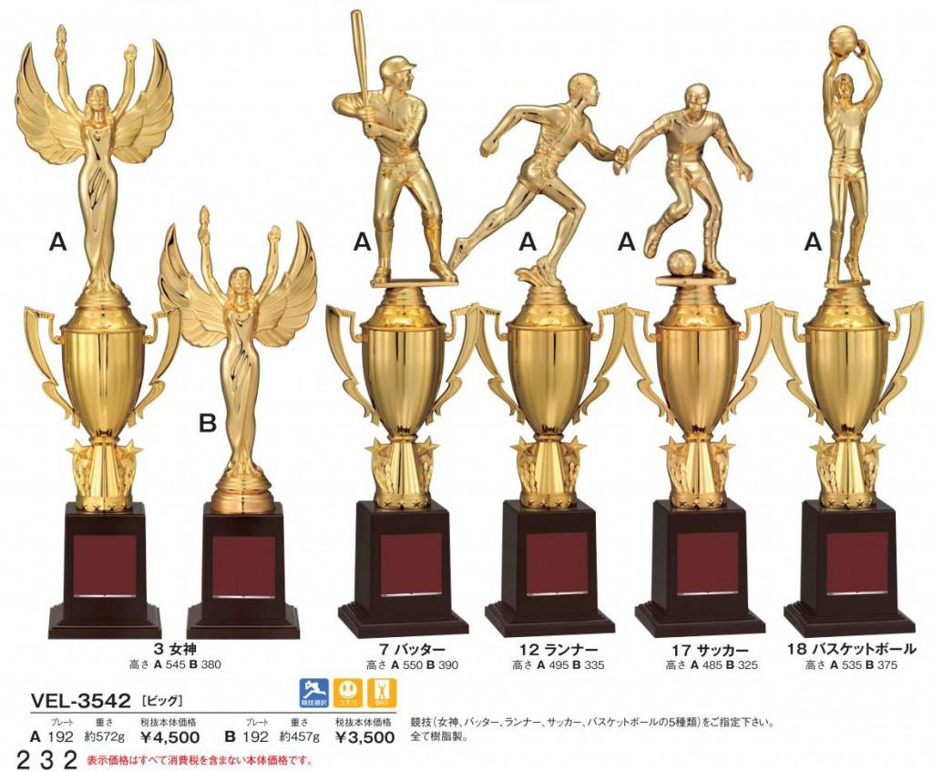 Bronzes【ブロンズ】VEL-3542 3女神 7バッター 12ランナー 17サッカー 18バスケットボール
