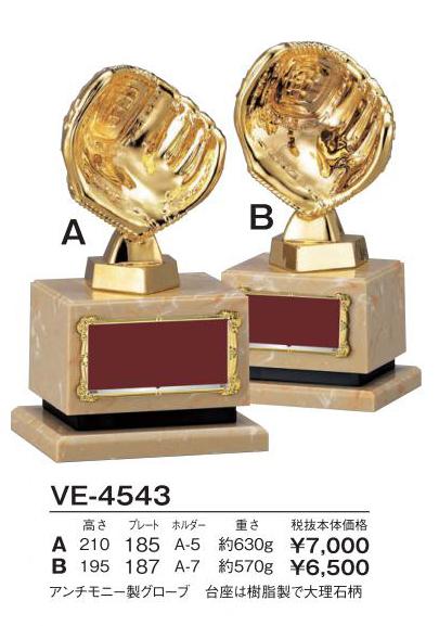 Bronzes【ブロンズ】VE-4543野球グローブ