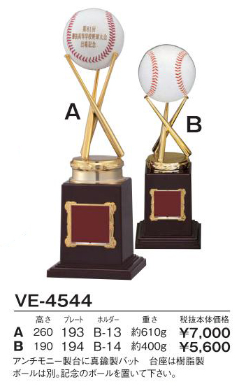 Bronzes【ブロンズ】VE-4544野球バット