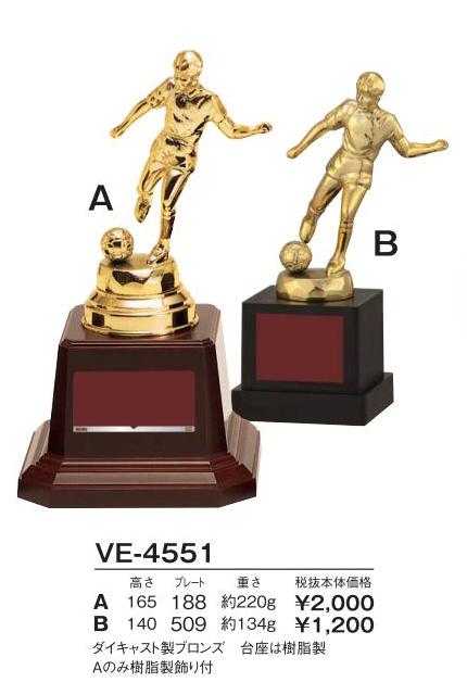 Bronzes【ブロンズ】VE-4551サッカー