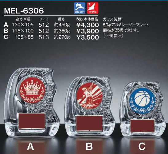 Win Shields【ウィンシールド】MEL-6306競技選択