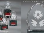 【ステンシルデザイン】MEL-6308サッカー