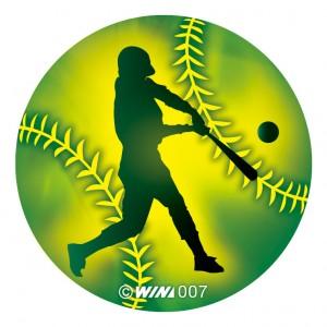 アクリルダイレクトプリントプレート 野球:バッター