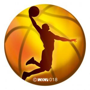 アクリルダイレクトプリントプレート バスケットボール男子
