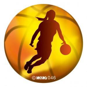 アクリルダイレクトプリントプレート バスケットボール女子
