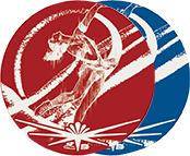 アルミレーザープレート フィギュアスケート