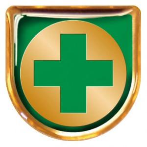 VTOPレリーフ 緑十字