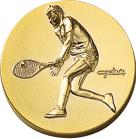 60パイ樹脂レリーフ テニス