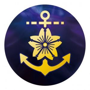 アクリルダイレクトプリントプレート 海上自衛隊