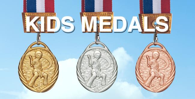 Win Medals【ウィンメダル】LK-50キッズメダル 空手