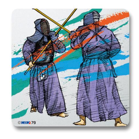 ヴィクトリーコレクションプレート 銃剣道