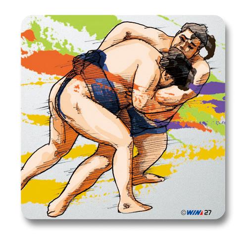 ヴィクトリーコレクションプレート 相撲