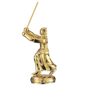 トロフィー人形 剣道