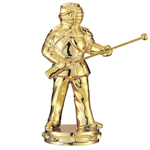 トロフィー人形 079銃剣道