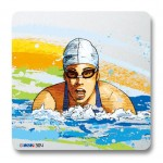 ヴィクトリーコレクションプレート 平泳ぎ女子