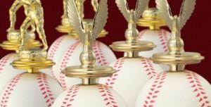 ボールトロフィー UE-3552野球
