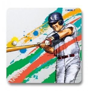 ヴィクトリーコレクションプレート 野球バッター