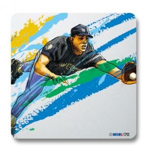 ヴィクトリーコレクションプレート 野球野手守備