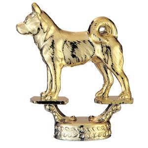 トロフィー人形 074柴犬