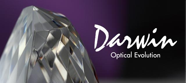 イージーオーダー|光学ガラス製トロフィー・表彰楯|ダーウィン